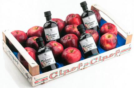 Condimento balsamico mela, solo dalla frutta migliore